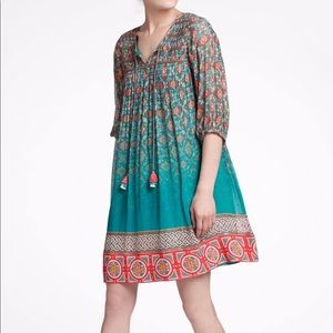 Tanvi Kedia Anthropologie Glimmered Ankita Dress S